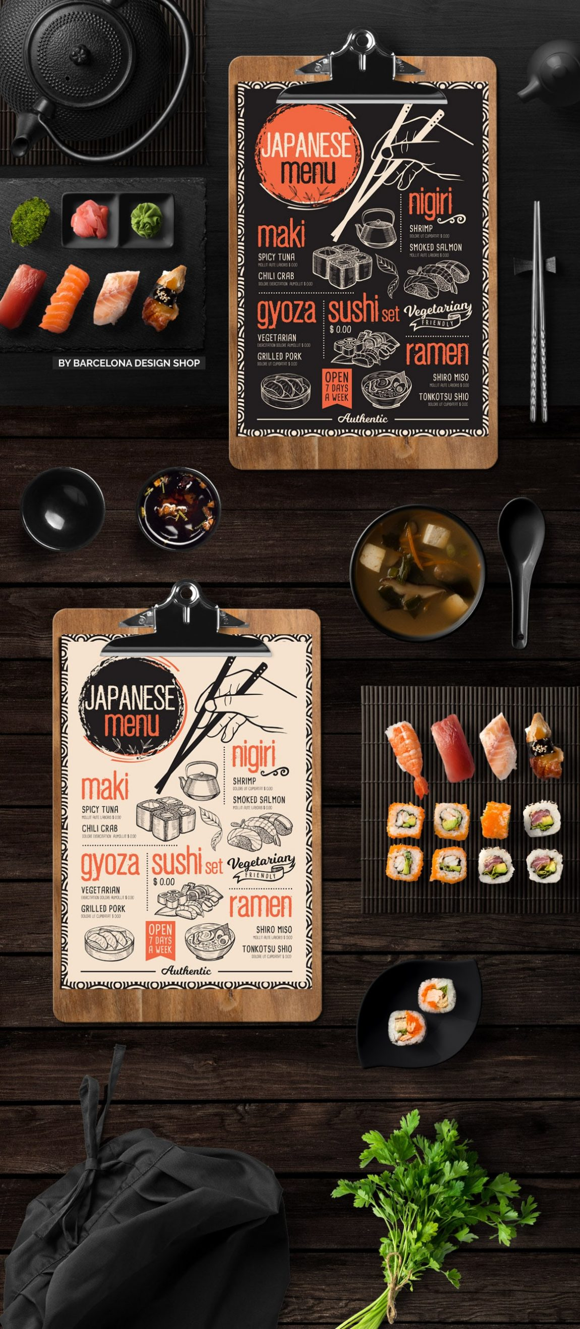 asian restaurant menu design barcelona design shop