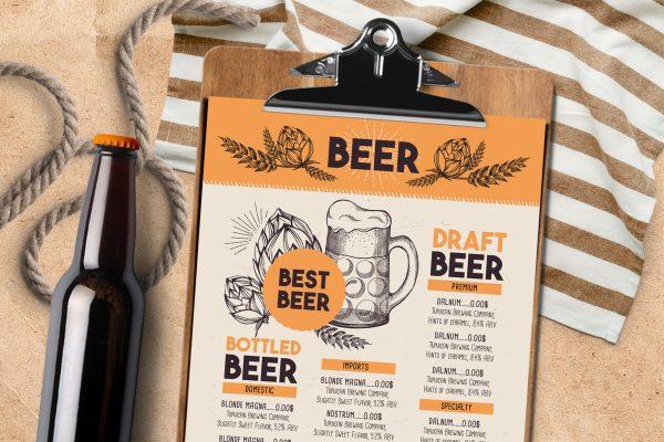 beer-alcohol-menu-template-restaurant-drink