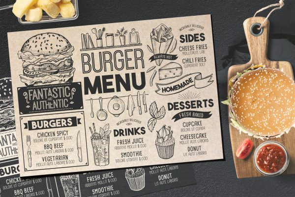 burger-food-menu-template-restaurant-blackboard
