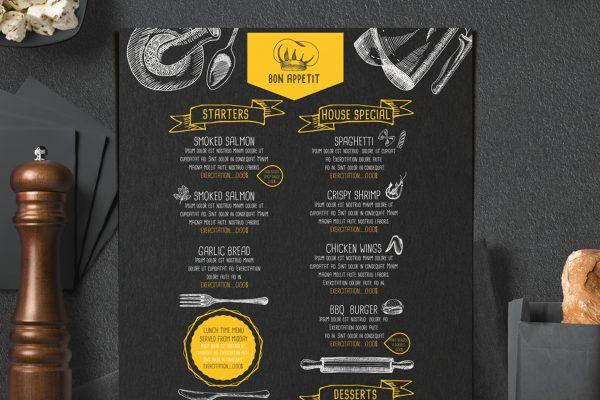 food-menu-restaurant-drink-template-psd-card-design