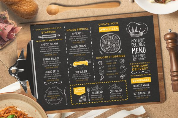 food-menu-restaurant-drink-template-psd-card-flyer