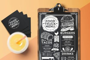 truck-food-menu-template-restaurant-burger-card
