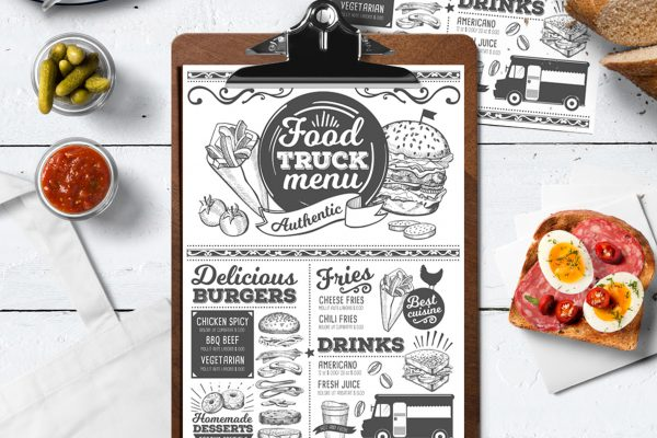 street-truck-food-menu-template-restaurant-card