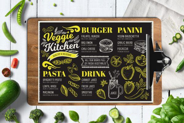 vegan-food-menu-template-restaurant-card